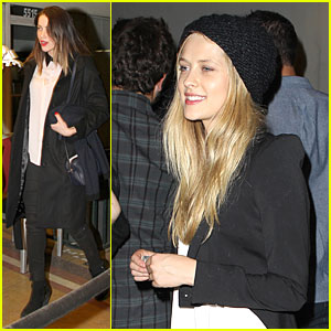 Amber Heard & Teresa Palmer: Petty Fest West Gals!