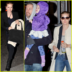 Amy Adams: Big Apple Family Time!