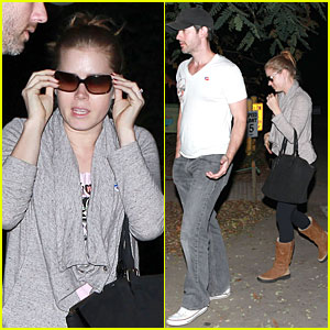Amy Adams &#038; Darren LeGallo: Late Night Voting Couple!