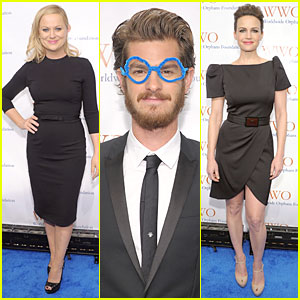 Andrew Garfield & Amy Poehler: Orphans Benefit Gala!