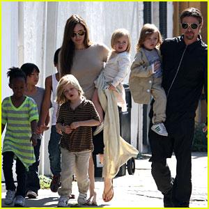 Angelina Jolie & Brad Pitt's Kids Send Santa Christmas Letters