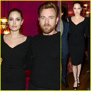 Angelina Jolie: 'The Impossible' Screening Host!