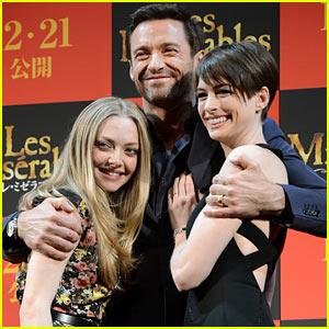 Anne Hathaway & Amanda Seyfried: 'Les Miserables' in Tokyo!