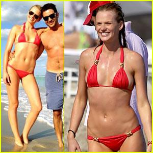Anne V: Bikini in Miami for Thanksgiving!