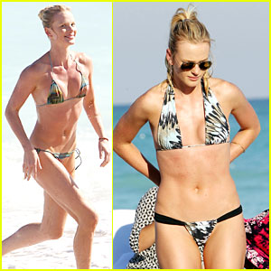 Anne V: Dual Bikinis in Miami Beach!