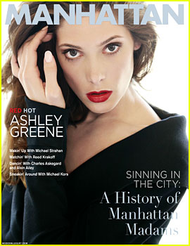 Ashley Greene Covers 'Manhattan' November 2012