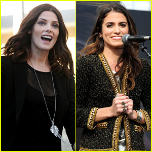 Ashley Greene & Nikki Reed: 'Twilight' Fan Camp Concert!