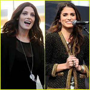 Ashley Greene & Nikki Reed: 'Twilight' Fan Camp Concert!