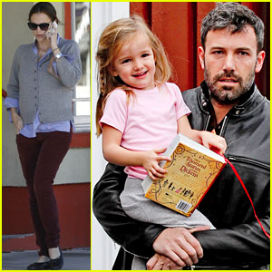 Ben Affleck: Daddy's Day with Violet & Seraphina!
