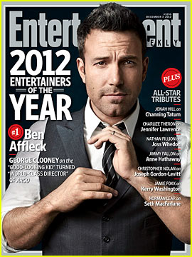 Ben Affleck: 'Entertainment Weekly's Entertainer of the Year!