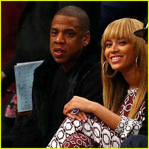 Beyonce & Jay-Z: Brooklyn Nets Home Opener!