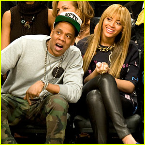 Beyonce & Jay-Z: Nets vs. Knicks Game at Barclays Center!