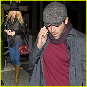 Blake Lively & Ryan Reynolds: Low Key L.A. Arrival