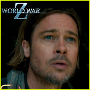 Brad Pitt: 'World War Z' Footage First Look!
