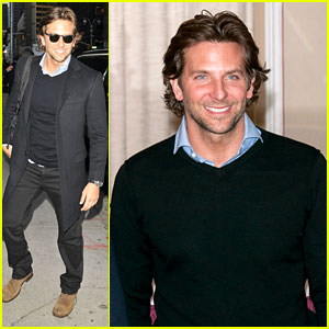 Bradley Cooper: 'Letterman' & 'Silver Linings' Press Conference!