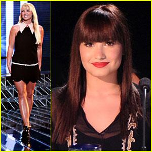 Britney Spears & Demi Lovato: 'X Factor' Top 16 Recap!