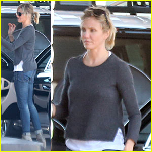 Cameron Diaz: First Paid Haircut Was Rod Stewart Cut!
