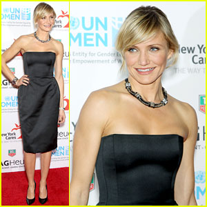 Cameron Diaz: TAG Heuer Watch Launch!