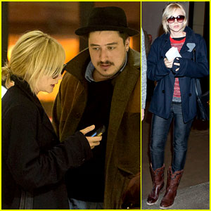 Carey Mulligan & Marcus Mumford Land in Los Angeles!