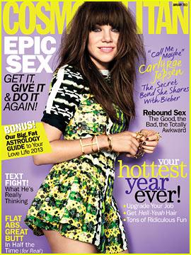 Carly Rae Jepsen Covers 'Cosmopolitan' January 2013