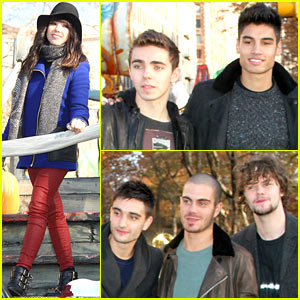 Carly Rae Jepsen & The Wanted: Macy's Thanksgiving Day Parade 2012!