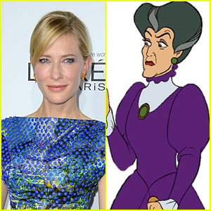 Cate Blanchett: Cinderella's Stepmother in Live Action Flick!