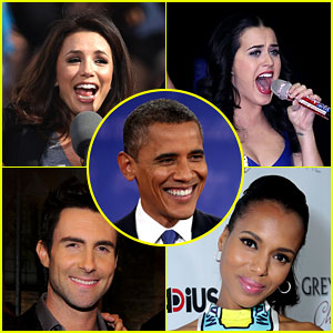 Celebrities React to Barack Obama's Election Win!