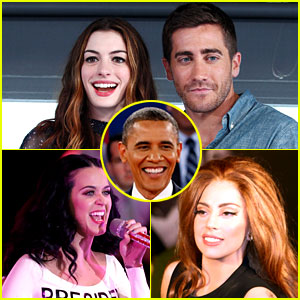 Celebs Campaign for Obama Before Election Tomorrow