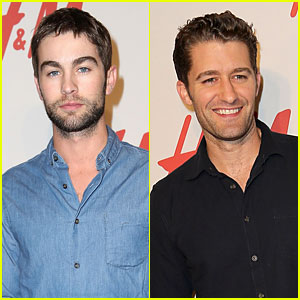 Chace Crawford & Matthew Morrison: H&M Store Opening!