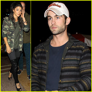 Chace Crawford & Jessica Szohr: Petty Fest West!
