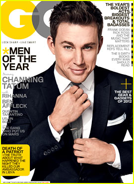 Channing Tatum Covers 'GQ' Men of the Year Issue!