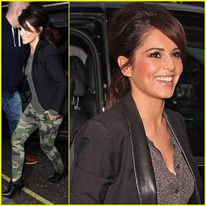 Cheryl Cole: BBC Radio Visit with Girls Aloud!