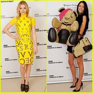 Chloe Moretz: BBC Children in Need Auction with Liberty Ross!