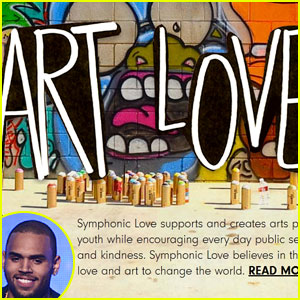 Chris Brown: Symphonic Love Foundation Site Launch! (Exclusive)
