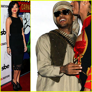 Chris Brown: Taliban Robes For Rihanna's Halloween Party