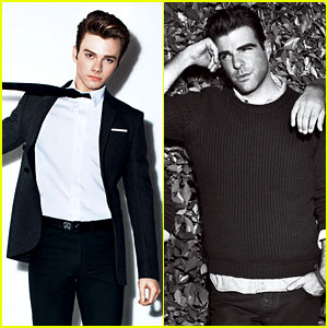 Chris Colfer & Zachary Quinto: 'Details' Mag Mavericks!
