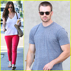 Chris Evans: 'Many Splintered Thing' Set with Topher Grace!