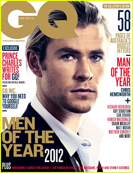 Chris Hemsworth Covers 'GQ Australia' Men of the Year Issue