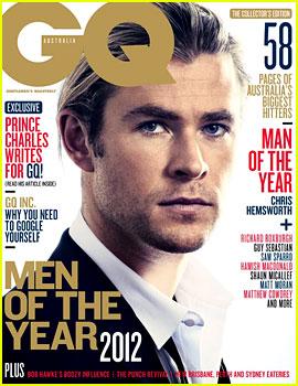 Chris Hemsworth Covers 'GQ Australia' Men of the Year Issue