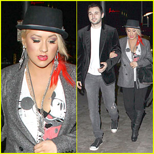 Christina Aguilera: CeeLo Green is Fearless!