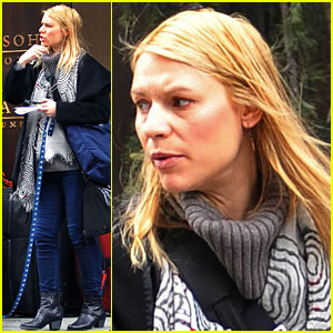 Claire Danes: Dog Walk With Weegee!