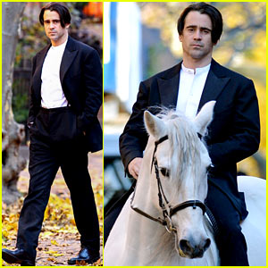 Colin Farrell Saddles Up For 'Winter's Tale'!