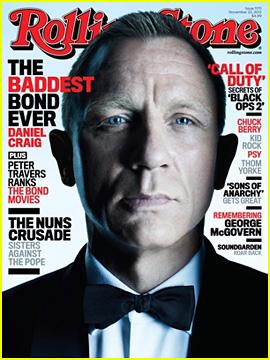 Daniel Craig Covers 'Rolling Stone' Magazine!