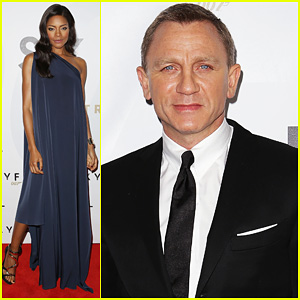 Daniel Craig & Naomie Harris: 'Skyfall' Australia Premiere!