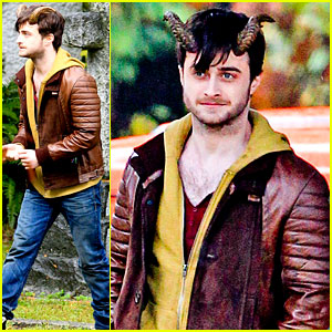 Daniel Radcliffe: Distressed in 'Horns'!