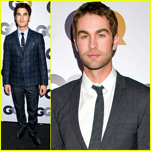 Darren Criss & Chace Crawford - 2012 GQ Men of the Year Party