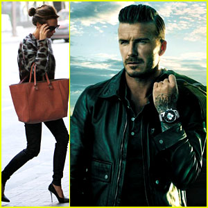 David Beckham: Breitling's New Face!