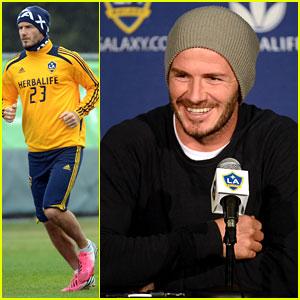 David Beckham: MLS Cup 2012 Training Session!
