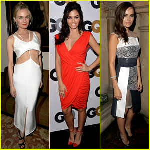 Diane Kruger & Camilla Belle - GQ Men of the Year Party 2012