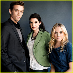 Diane Kruger & Jake Abel: 'The Host' 'THR' Power Authors Featur